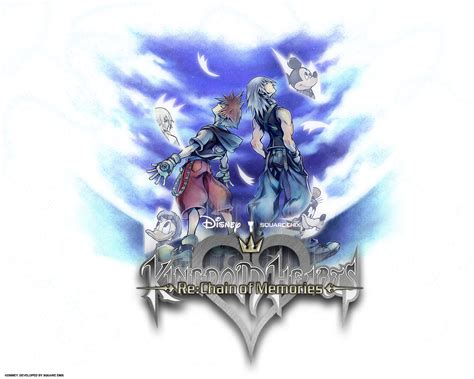 kh chain of memories kingdom hearts re chain of memories wallpaper 93672