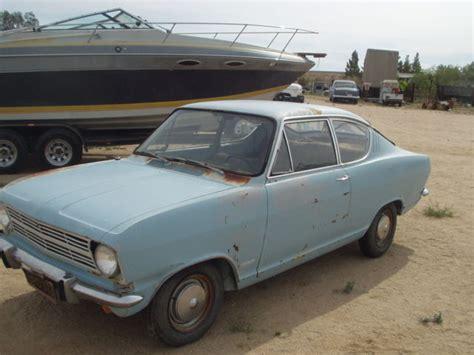 Opel Kadett For Sale by 1966 Opel Kadett B Kiemencoupe Desert Find For Sale