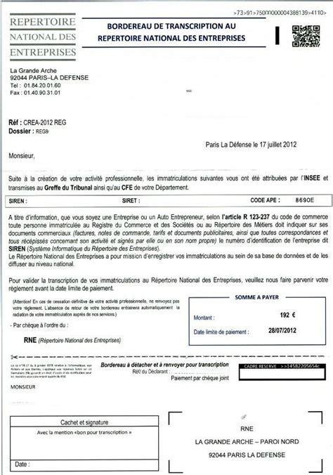 registre national des entreprises ordre des kin 233 s 49