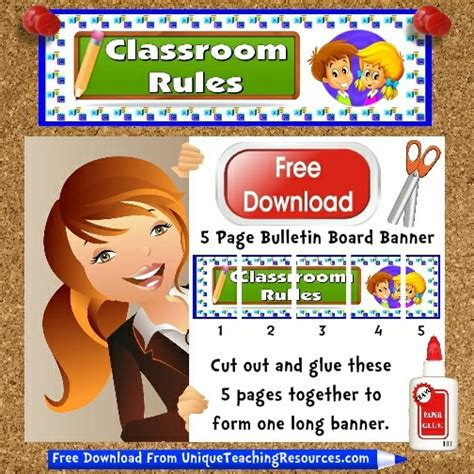 Home Tuition Board Design free classroom rules bulletin board display banner