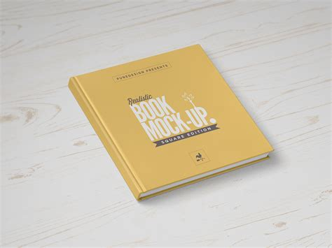 picture books about square book mock up punedesign