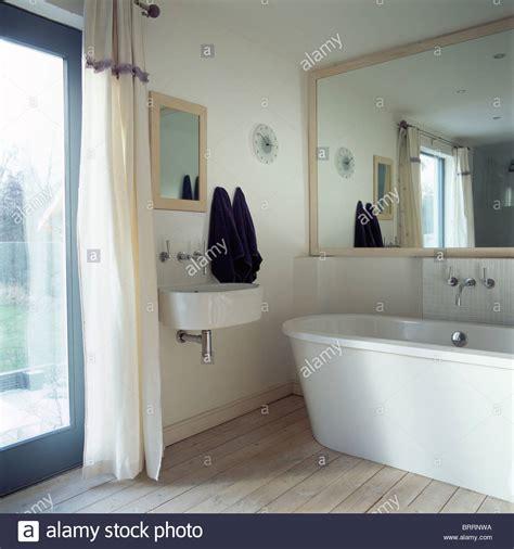 large mirror in bathroom large mirror above modern bath in small modern bathroom