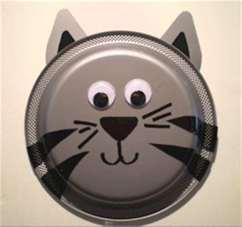 cat paper plate craft paper plate kitten