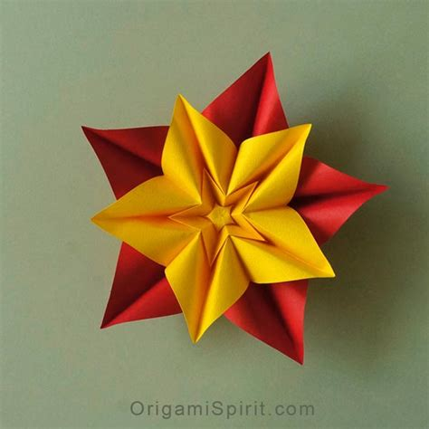 make a origami flower how to make an origami flower and variations