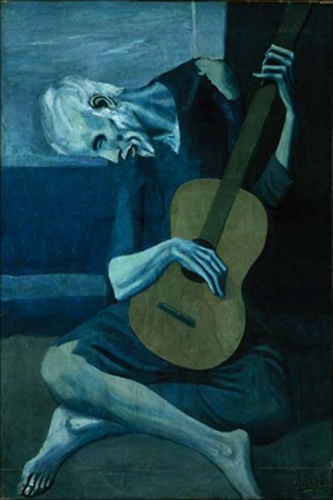 picasso paintings images blue period value study picasso s blue period mrs gonyou s class