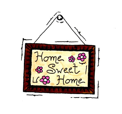 sweet home home sweet home clipart cliparts and others inspiration
