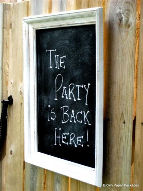 painting chalkboard signs 17 best images about chalkboards for the garden on