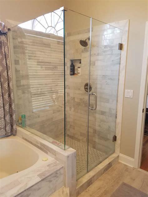 tub shower doors frameless atlanta frameless shower doors tub surrounds