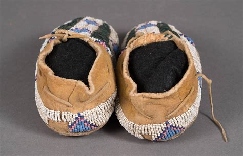 beaded moccasins for sale antique american beaded child s moccasins arapaho
