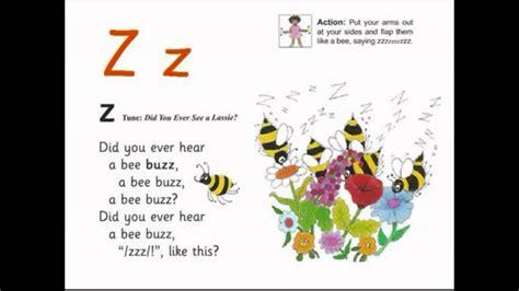 a to z jolly letter z