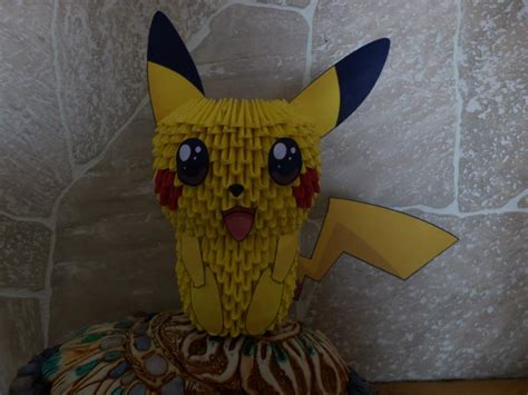 pikachu origami 3d pikachu origami 3d by agonza95 on deviantart