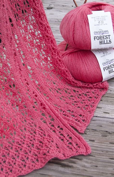 knitting stitches yrn best 25 lace scarf ideas on diy lace infinity