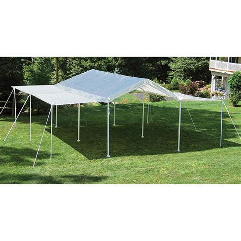I Canopy by Shelterlogic 2 In 1 Canopy Extended Event Tent 222737