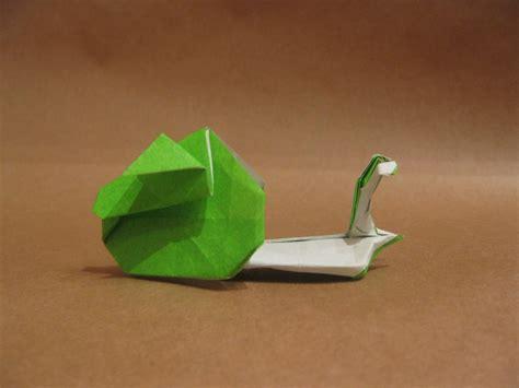 origami snail 20 creative origami designs