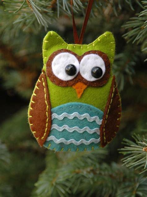 owls ornaments 7 diy tree decorations