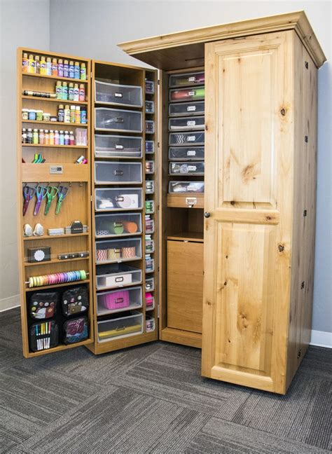 and crafts storage best 25 craft cabinet ideas on craft armoire