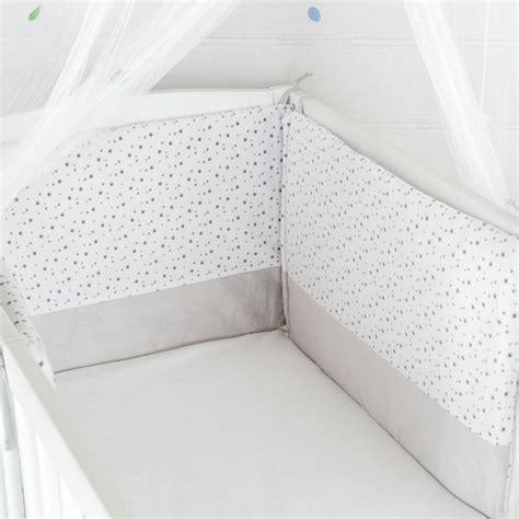 linge de lit tour de lit b 233 b 233 mixte 233 toiles gris blanc kinousses kinousses