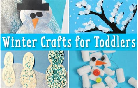 seasonal crafts for simple winter crafts for toddlers easy peasy and