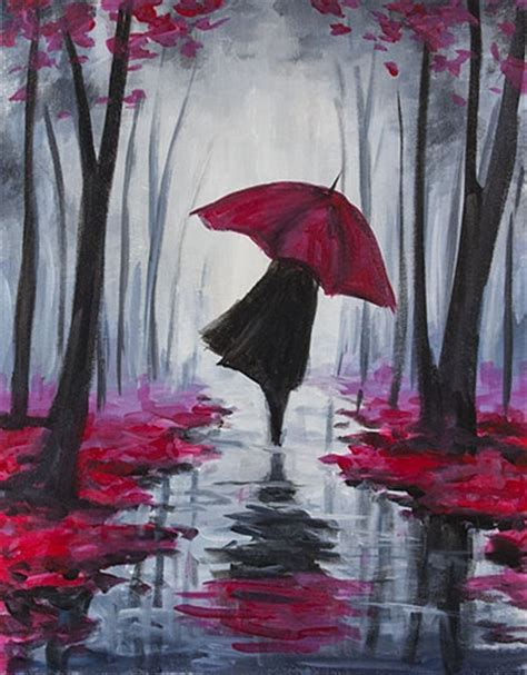 paint nite yerman s autumn stroll ii by elizabeth paint nite