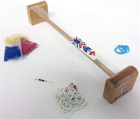 using a beading loom 2014 workshop line up the canadian canoe museum s