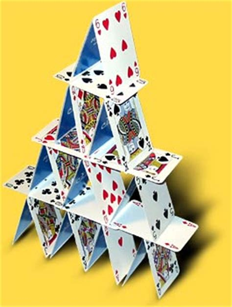 how to make a house of cards the link devotional february 2009
