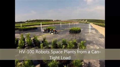 lake tree farm cherry lake tree farm spacing plants with hv 100 robots