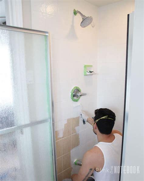 spray paint tiles bathroom best 25 paint tiles ideas on