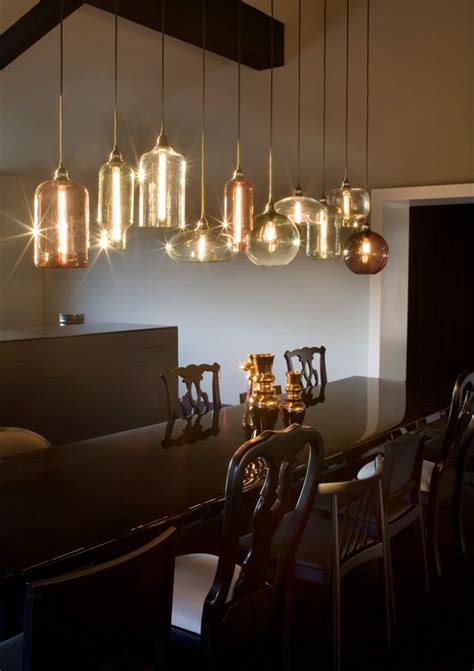 Dining Room Table Lights Modern Pendant Lighting For Your Kitchen Traba Homes
