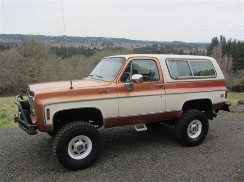 1971 chevrolet custom k5 blazer 4x4 205901 k5 blazer autos post