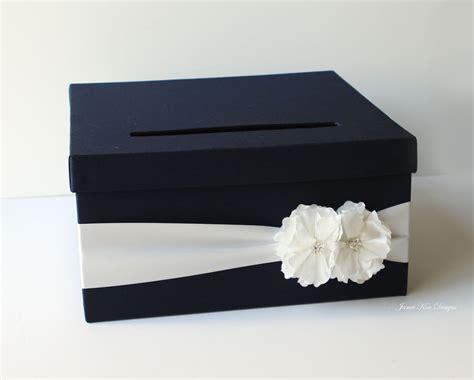 card box navy blue wedding card box 13 gorgeous wedding card and