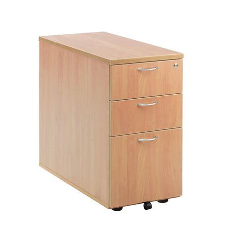 desk storage drawer three drawer desk high pedestal