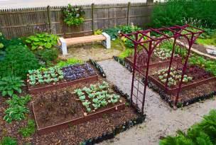home vegetable garden tips shade garden design technique vegetable color blocking