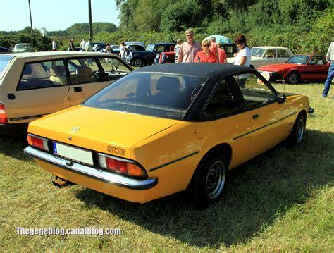 Opel Manta Gt by Opel Manta B Gt E De 1975 Auto Retro Nord Alsace