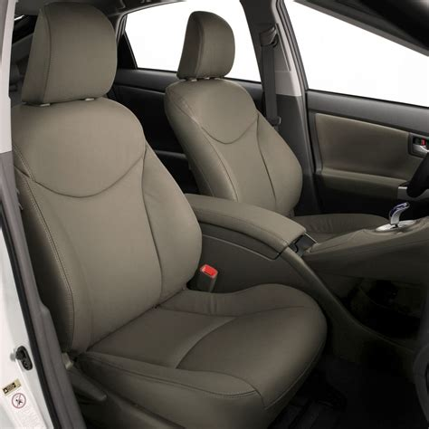 prius leather seat covers 2010 2011 toyota prius katzkin leather seat cover covers complete set ebay