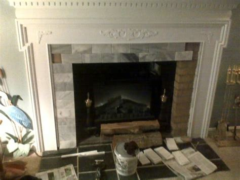 covering up a fireplace fireplace mantle cover brick traditional living