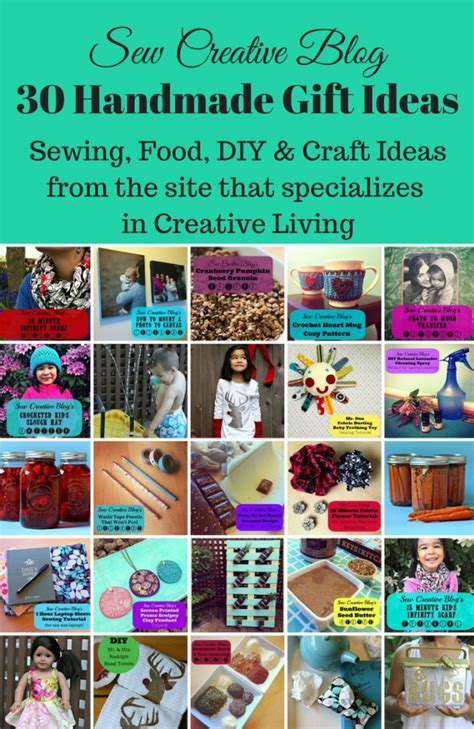 craft websites for 30 handmade gift ideas sewing food diy craft ideas