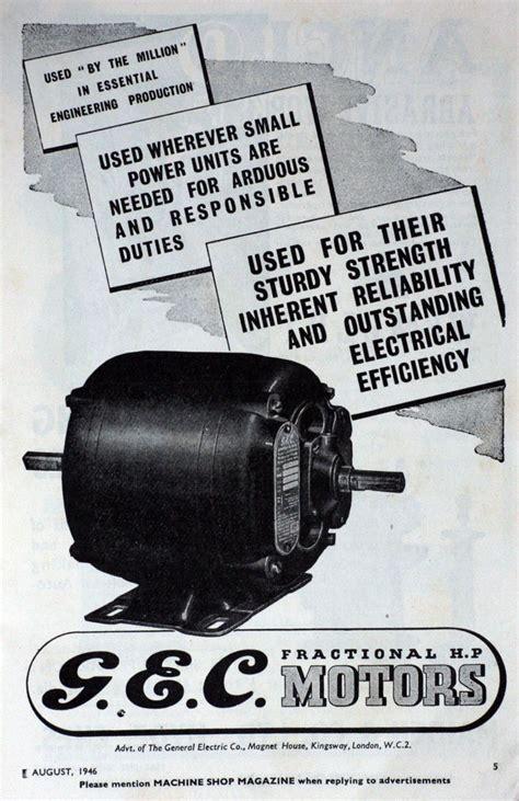 Gec Electric Motors gec electric motors