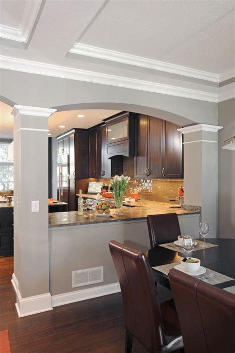 dining room and kitchen ideas best 25 half wall kitchen ideas on kitchen