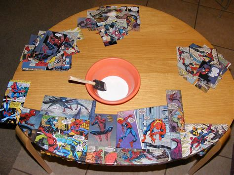 decoupage comics decoupage with comic books