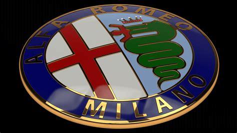 Alfa Romeo Emblem by Alfa Romeo Badge Johnywheels