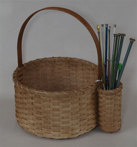 how to knit basket baskets