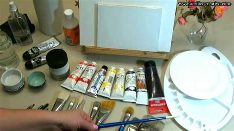que pintura se usa curso de pintura1 qu 233 materiales utilizar para pintar
