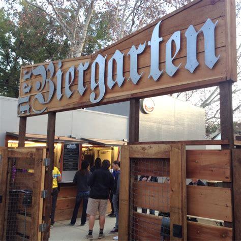 Der Biergarten by Der Biergarten Opens As Midtown S Destination