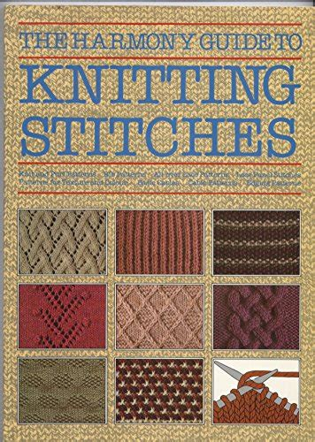 guide to knitting stitches the harmony guide to knitting stitches
