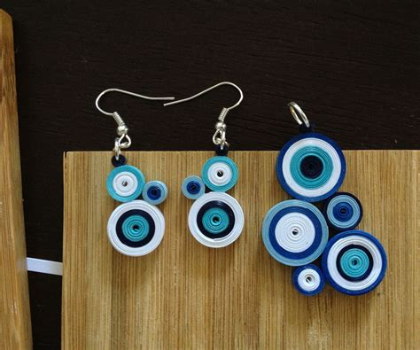 paper jewelry quilled paper jewelry 4