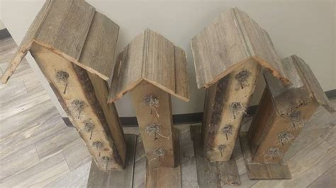 making birdhouse out of pallets