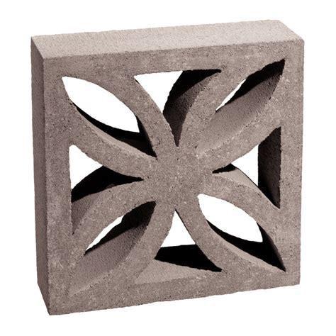 decorative concrete blocks for garden walls shop basalite decorative concrete block common 4 in x 12