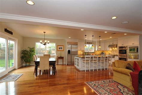 kitchen family room floor plans open floor plan kitchen family room dining room
