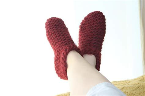 tick tock knits tick tock slippers knitting patterns and crochet