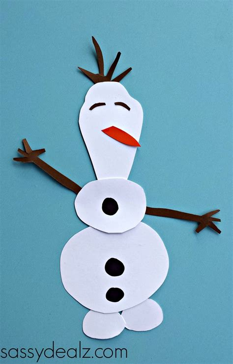 cutting craft frozen olaf toilet paper roll craft for crafty morning